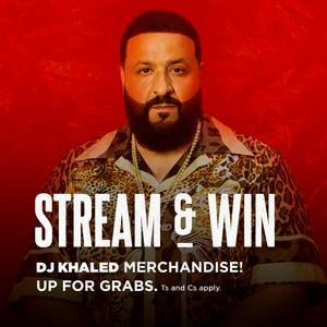 Updated Playlists Stream & Win: DJ Khaled